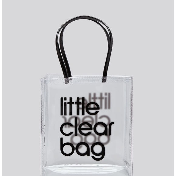 Bloomingdale s Bags   Bloomingdales Little Clear Bag 100 Exclusive ... c7d82290f9